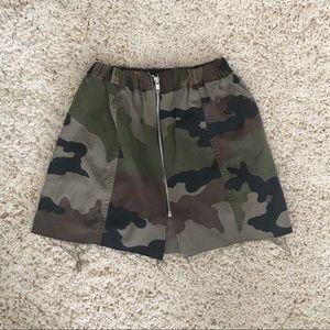 Army cargo Skirt